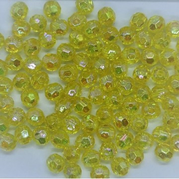 6mm Faceted AB Bead #8