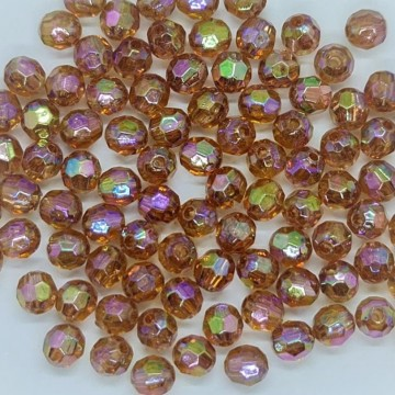 6mm Faceted AB Bead #13