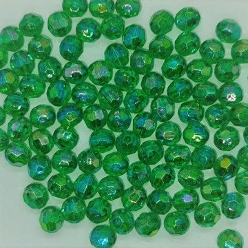 6mm Faceted AB Bead #19