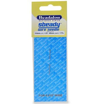 "Beadalon Sbeady Wire Needle (0.018"" wire)"