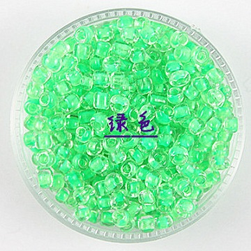 Seed Beads 4mm Inside Colour #02