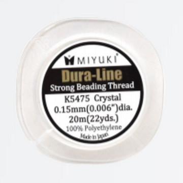 Miyuki Dura-Line Strong Beading Thread 0.15mm Crystal
