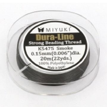 Miyuki Dura-Line Strong Beading Thread 0.15mm black