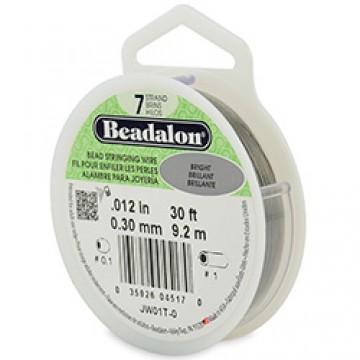 Beadalon Wire 7 Strands  0.012 inch