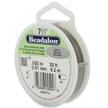 Beadalon Wire 7 Strand  0.020 inch