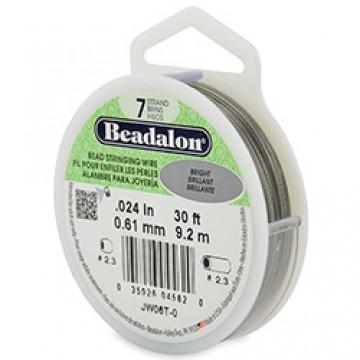 Beadalon Wire 7 Strand  0.024 inch